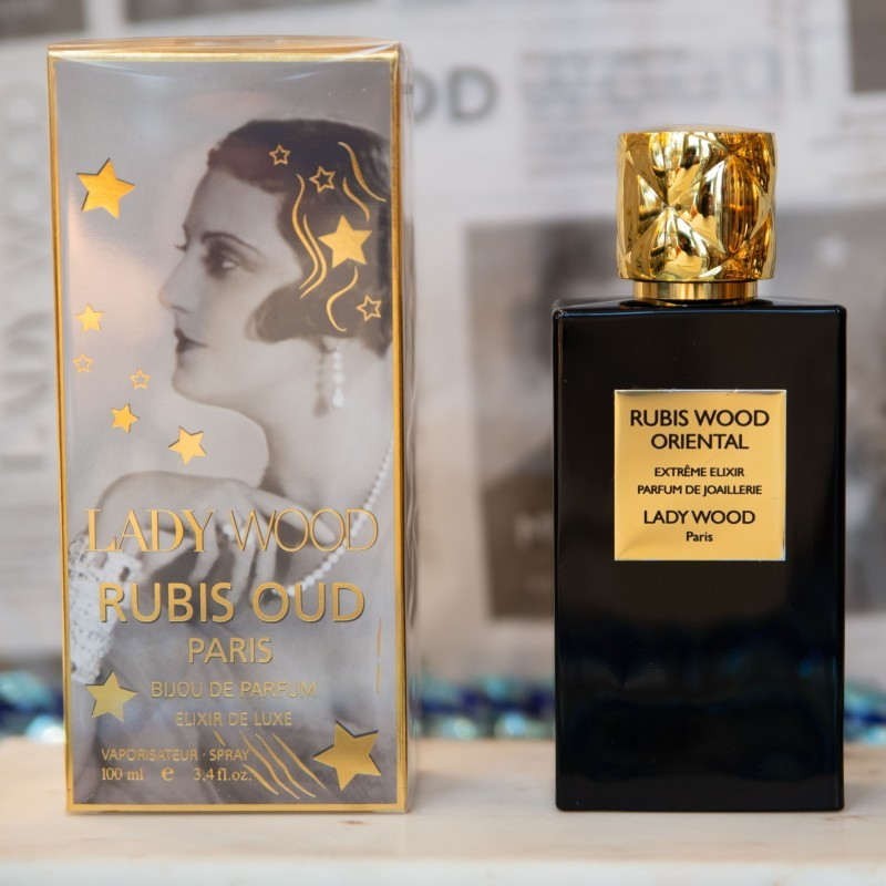 Rubis Wood Oriental collection privée